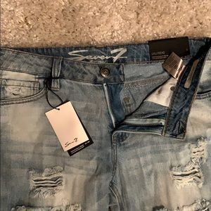 Women's distressed Seven7 jeans